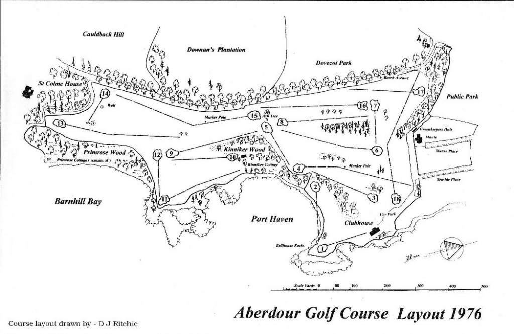 Course Layout 1976