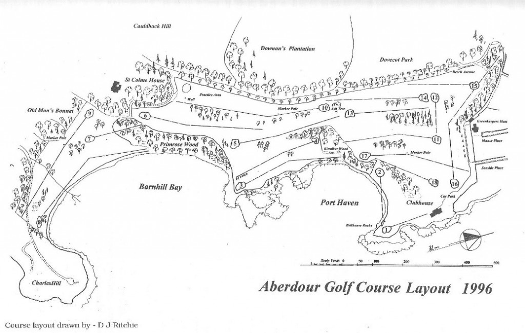 Course Layout 1996