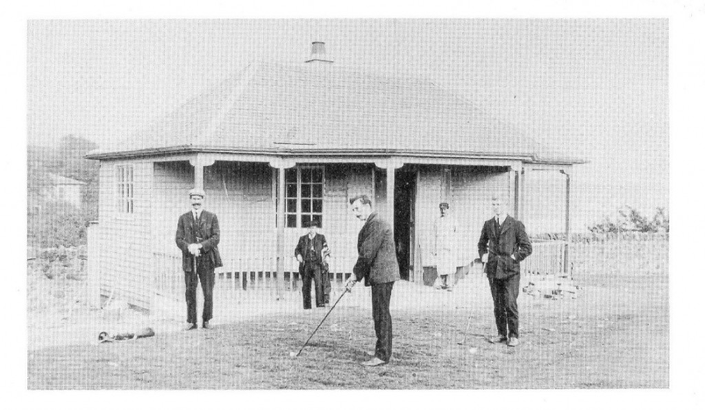 First Clubhouse 1905
